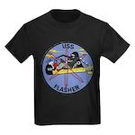 USS FLASHER Kids Dark T-Shirt