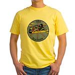 USS FLASHER Yellow T-Shirt