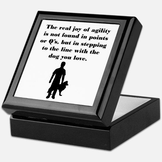 The Joy of Agility Keepsake Box
