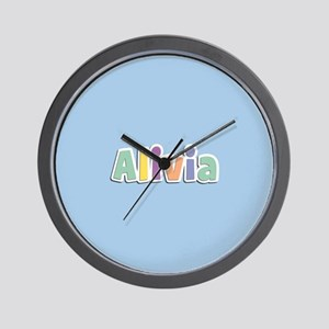 Alivia Spring14 Wall Clock