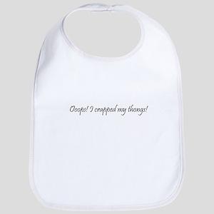 Crapped thongs  Bib