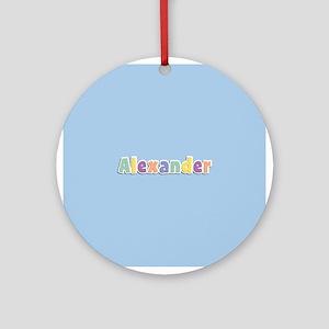 Alexander Spring14 Ornament (Round)