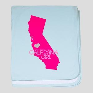 ALWAYS a California Girl baby blanket