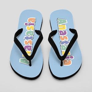 Anastasia Spring14 Flip Flops