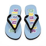 Danielle name Flip Flops