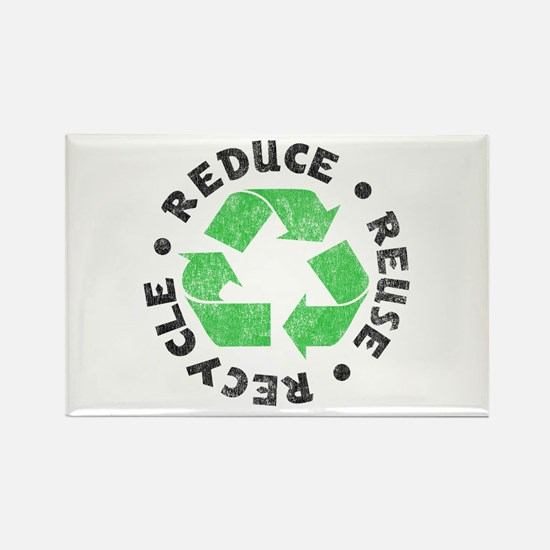 Recycle! Rectangle Magnet