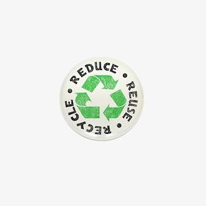 Recycle! Mini Button