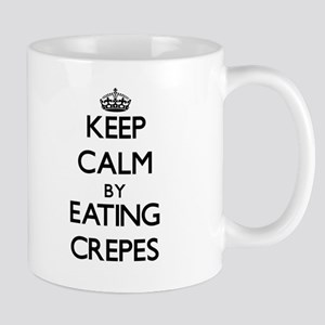 Keep calm by eating Crepes Mugs