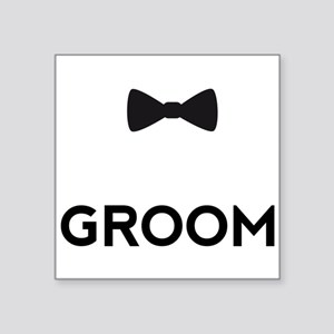 Groom with bow tie Sticker