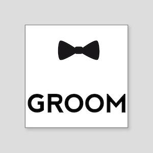 Groom with bow tie Sticker