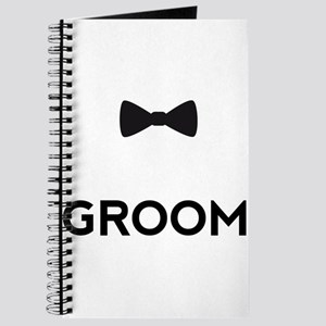 Groom with bow tie Journal