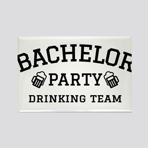 Bachelor Party drinking team Magnets