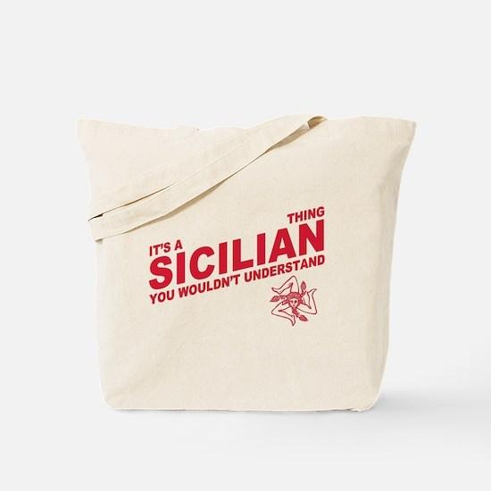 Sicilian thing Tote Bag