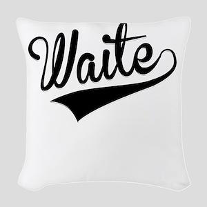 Waite, Retro, Woven Throw Pillow