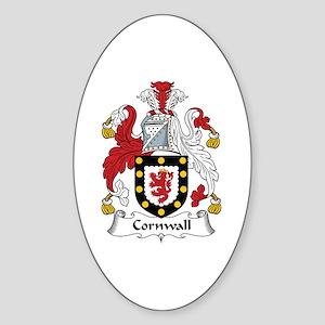 Cornwall Oval Sticker