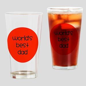 World's Best Dad Drinking Glass