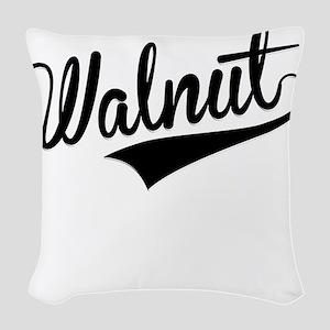 Walnut, Retro, Woven Throw Pillow
