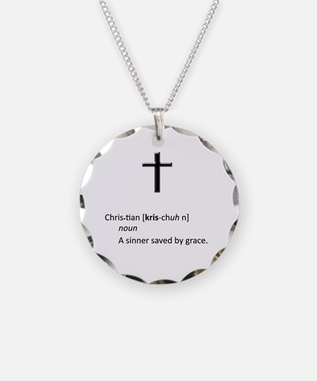 Definition of Christian - A  Necklace