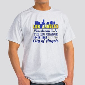 LA Nicknames of Los Angeles Light T-Shirt