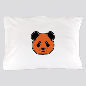panda head 11 Pillow Case