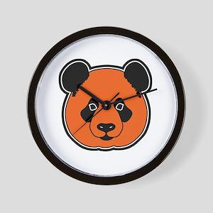 panda head 11 Wall Clock