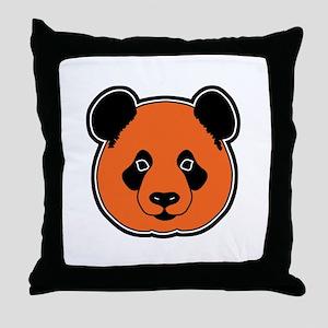 panda head 11 Throw Pillow