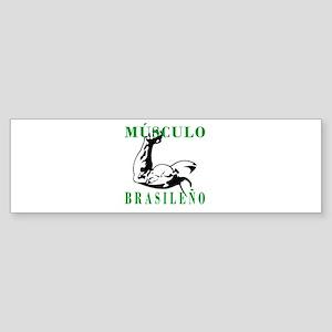 Músculo Brasileño Bumper Sticker