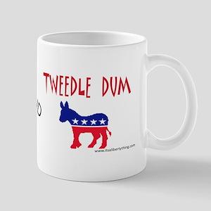 Tweedle Dee and Dum Mugs