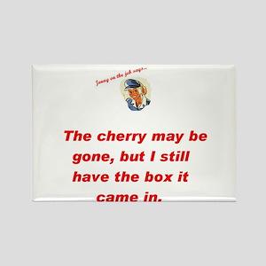 Jenny on the job cherry Rectangle Magnet