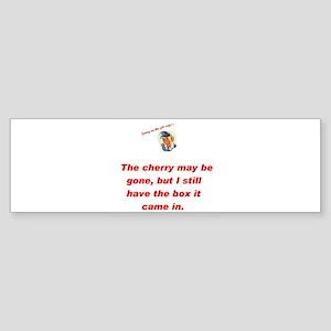 Jenny on the job cherry Bumper Sticker
