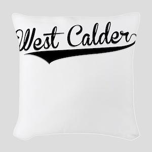 West Calder, Retro, Woven Throw Pillow