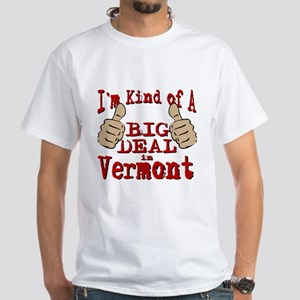 Big Deal - Vermont White T-Shirt