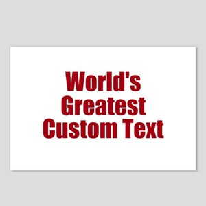 Worlds Greatest Custom Design Postcards (Package o