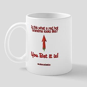 Red Hot Grandma Mug