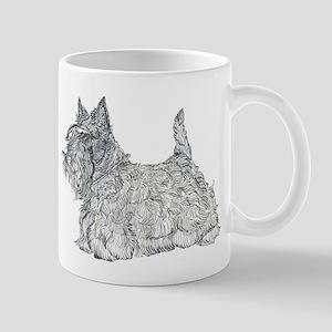 Scottish Terrier Graphic Mug