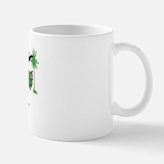 Aunt of the Island Bride Mug