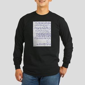 NATSARIM YISRAEL BANNER Long Sleeve Dark T-Shirt