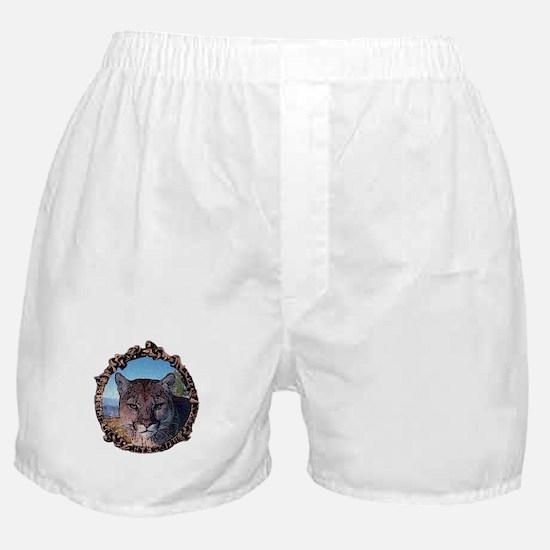 Mountain lion hunter Boxer Shorts