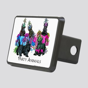 Scottish Terrier Party Ani Rectangular Hitch Cover