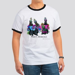 Scottish Terrier Party Animals Ringer T
