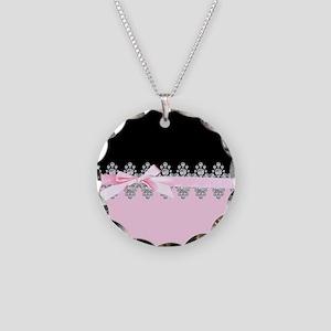 Diamond Delilah Necklace Circle Charm
