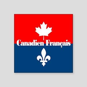 Canadien Francais (sq) Sticker