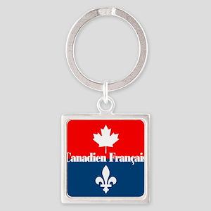 Canadien Francais (sq) Keychains