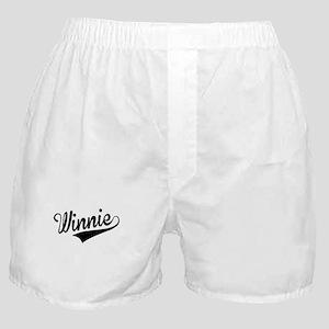 Winnie, Retro, Boxer Shorts