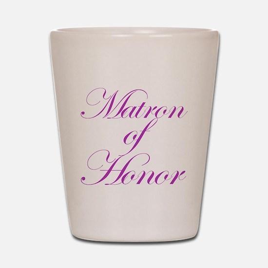 Matron of Honor Fancy Shot Glass