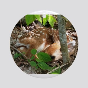 Oh Deer Ornament (Round)