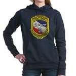 USS FOX Women's Hooded Sweatshirt