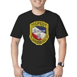 USS FOX Men's Fitted T-Shirt (dark)
