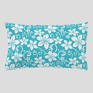 Plumeria Blue Curacao Pillow Case
