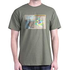 Location Colombia Dark T-Shirt